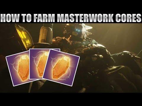 How to Farm up to 100 Masterwork Cores this Week! Masterwork Core Farm!