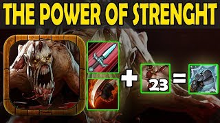One Dagger One Kill | Your STR is Mine [Dagger+Warlus+Bloodrage] Ability Draft Dota 2