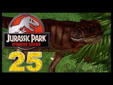 Jurassic Park: Operation Genesis - Episode 25 - Albertosaurus and its Prey