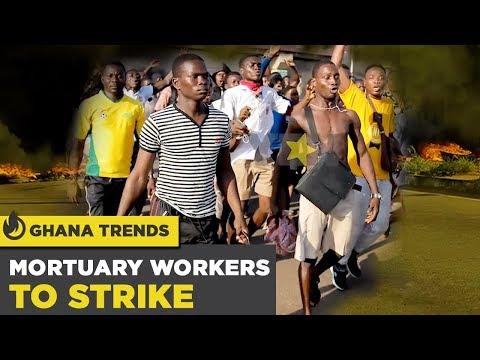 Ghana News Today: Mortuary Workers to Strike / Madina-Adenta Footbridge Demo | Yen.com.gh