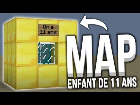 2 ENFANTS DE 11 ANS ONT CRÉE CETTE MAP ET...