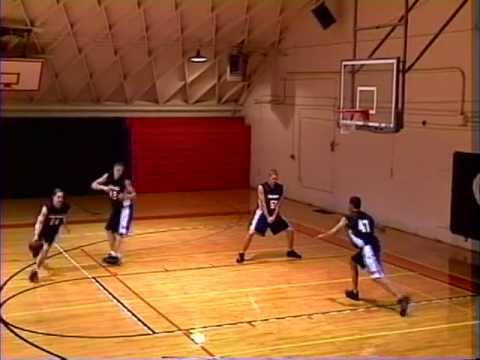 Dribble Rub Series Basketball Play