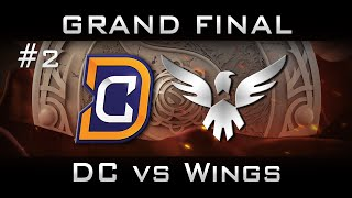 DC vs Wings Grand Final The International 2016 TI6 Highlights [Game 2] Dota 2