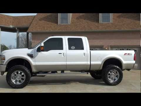 2010 FORD F 250 SD KING RANCH 4X4 LIFTED DIESEL FOR SALE SEE WWW SUNSETMILAN COM