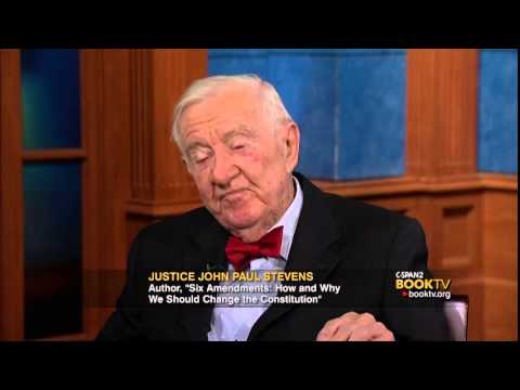 "Justice John Paul Stevens, ""Six Amendments"" - Book TV After Words"