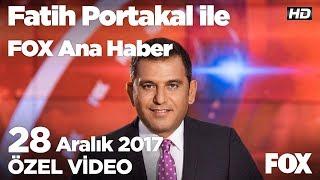 Sembol Filistinli serbest bırakıldı!  28 Aralık 2017 Fatih Portakal ile FOX Ana Haber