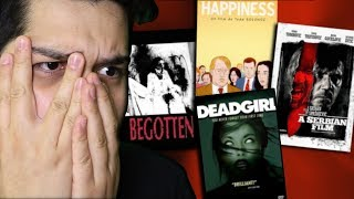 I Watched 4 DISTURBING Movies...And Only One Didn't SUCK (Disturbing Movie Reviews)
