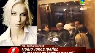 PRIMICIASYA.COM | El dolor de Ingrid Grudke, la mejor amiga de Jorge Ibáñez