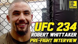 UFC 234: Robert Whittaker Responds to Israel Adesanya Saying The Event Sold Out Due to His Fight