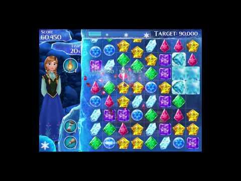 Disney Frozen Free Fall Level 88