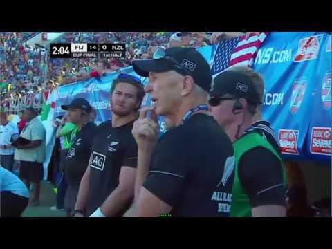 Cup Final, Fiji v New Zealand, Las Vegas 7s 2015