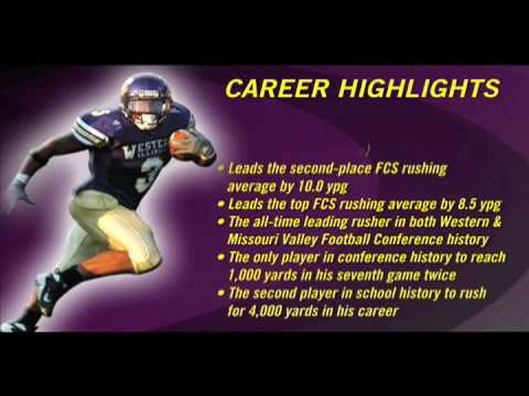 Western Illinois senior running back Herb Donaldson is among the candidates for the 2008 Walter Payton Award after finishing his senior campaign with 1784 y...