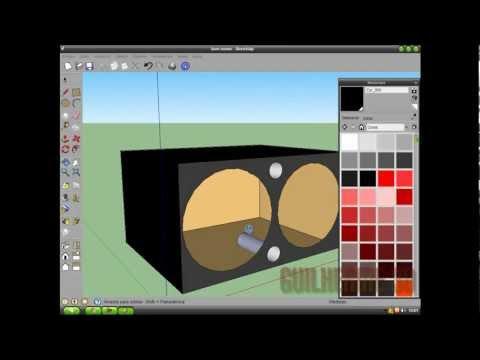 Como Fazer Uma Caixa De Som Sem Sub No Sketchup 8