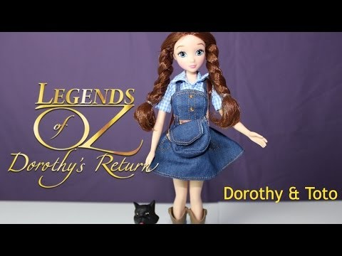 Legends of OZ Dorothy & Toto  Doll Review  B2cutecupcakes