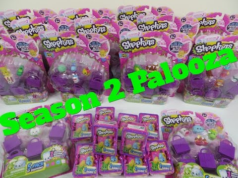 Shopkins Season 2 Palooza Round 1 Plus Shoutouts Opening Unboxing