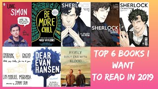 My Top 6 Books I Want To Read This Year