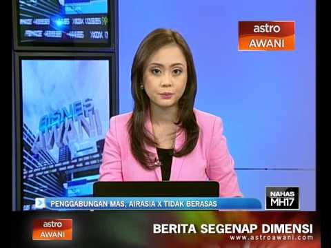 Penggabungan MAS, AirAsia X tidak berasas