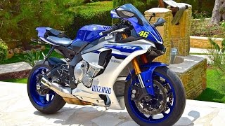 Amazing Yamaha R1 2016 Top Speed 0 - 299 km/h in Seconds !!!
