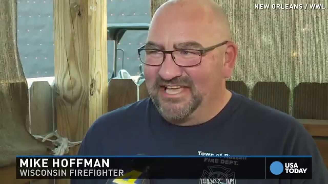 Hurricane Katrina firefighters reflect on anniversary
