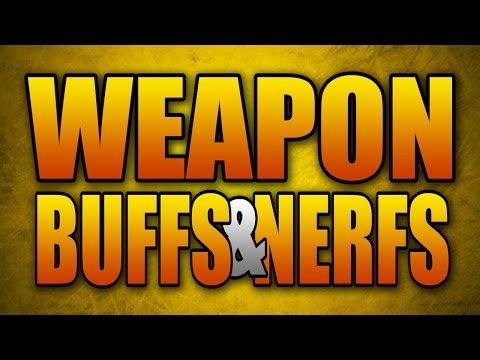 Huge New Patch: ASM1 Nerf, 10+ Weapons Buffed, and more! (Advanced Warfare)