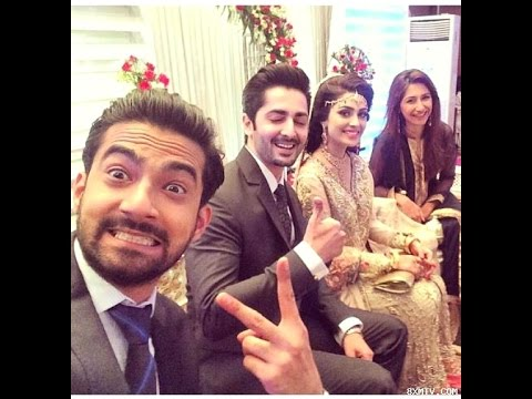 Ayeza Aiza Khan Danish Taimoor Valima Walima  Wedding Sweet Moments