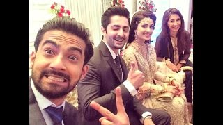 Ayeza Aiza Khan Danish Taimoor Valima Walima  Wedding Sweet Moments