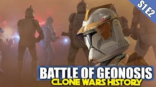 The Battle of Geonosis | Clone Wars History S1E2