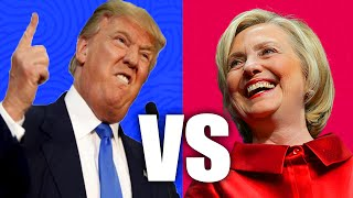 TOP 10 PRESIDENTIAL DEBATE MOMENTS - Donald Trump & Hilary Clinton Funniest Moments (2016)