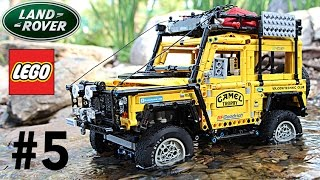 VERY COOL LEGO Land Rover Defender Camel Trophy Experience with SBrick. Episode 5