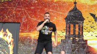 Killswitch Engage - A Bid Farewell - Live 5-24-14 River City Rockfest