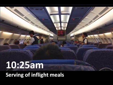 Philippine Airlines A340 to Thailand (Part 2)