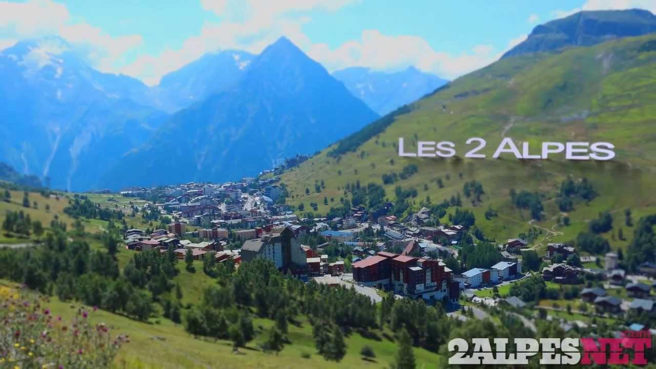Summer in les 2 alpes youtube for Piscine les deux alpes