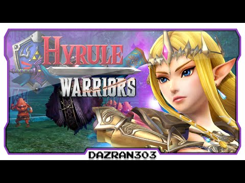 HYRULE WARRIORS Gameplay w/ Dazran303 | Zelda Freeplay Gameplay Faron Woods [HD]