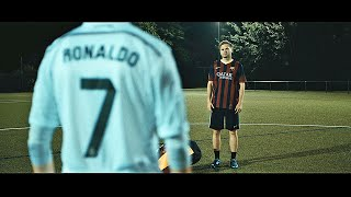 Ronaldo VS Messi - Boot Battle: Nike Superfly CR7 vs adidas Messi15 Test & Review | 4K