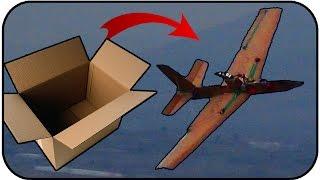 | MrCuervoRC | Avión de cartón