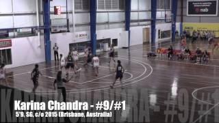 Karina Chandra, 5'9, 152 lbs, SG, 2015 (Brisbane, Australia)