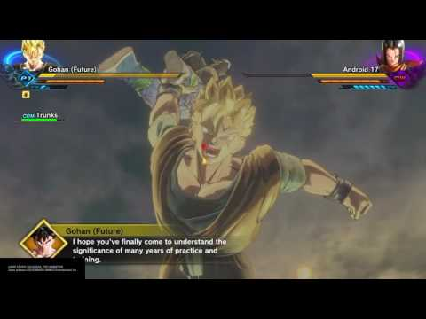 Dragon Ball Xenoverse 2 Unknown History Gohan And Trunks Vs The Androids