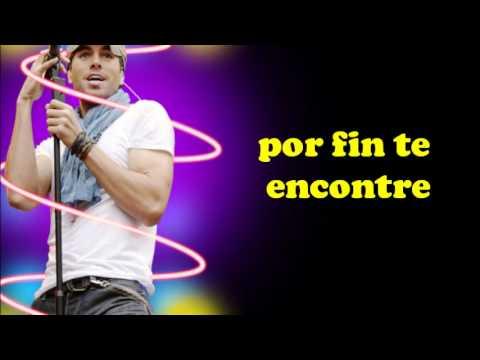 Enrique Iglesias - Finally Found You Feat. Sammy Adams (subtitulada Al Español) video