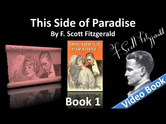 Book 1 - This Side of Paradise Audiobook by F. Scott Fitzgerald