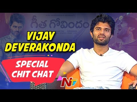 Special Chit Chat With Vijay Deverakonda | Rashmika Mandanna | Geetha Govindham Movie | NTV