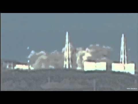 Fukushima Daiichi Nuclear Plant Explosion (raw Footage) & Winds Directions [hd] - By Newoaknl video