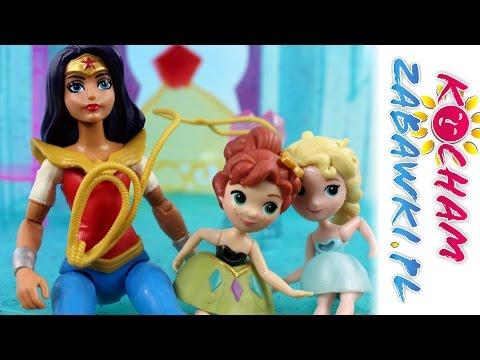 Pożar W Krainie Lodu - DC Super Hero Girls & Disney Frozen - Bajki Dla Dzieci