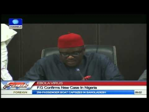 Ebola Virus: FG Confirms New Case In Nigeria (Report)