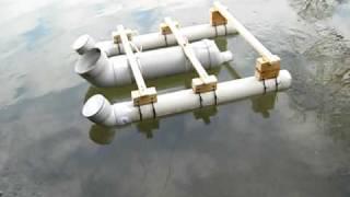 Лодка из пвх трубы своими руками