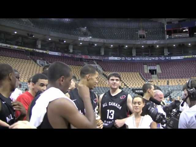 CROWN: 2011 All-Canada Classic-2ND-HALF Highlights. Webster-Chan MVP