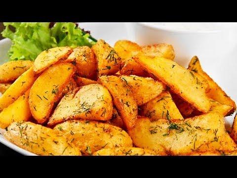 Красивый картофель в духовке. Просто, быстро, вкусно!