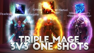 INSANE TRIPLE MAGE 3v3 ft. Cartoonz & Xaryu