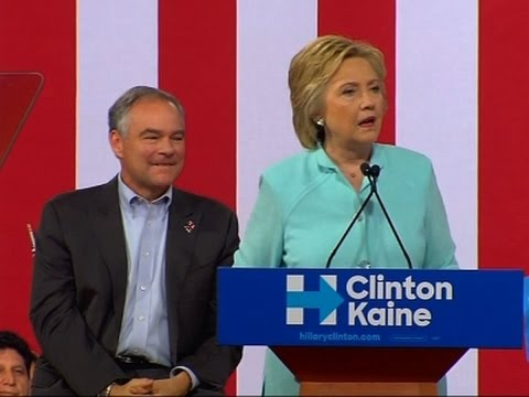 Clinton: Kaine 'Likes to Get Things Done'