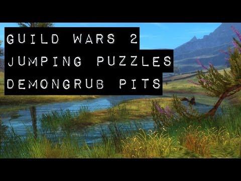 Guild Wars 2 Puzzle Achievements - Demongrub Pits