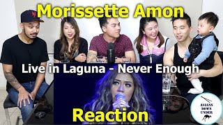 Morissette Live in Laguna - Never Enough | Reaction - Australian Asians